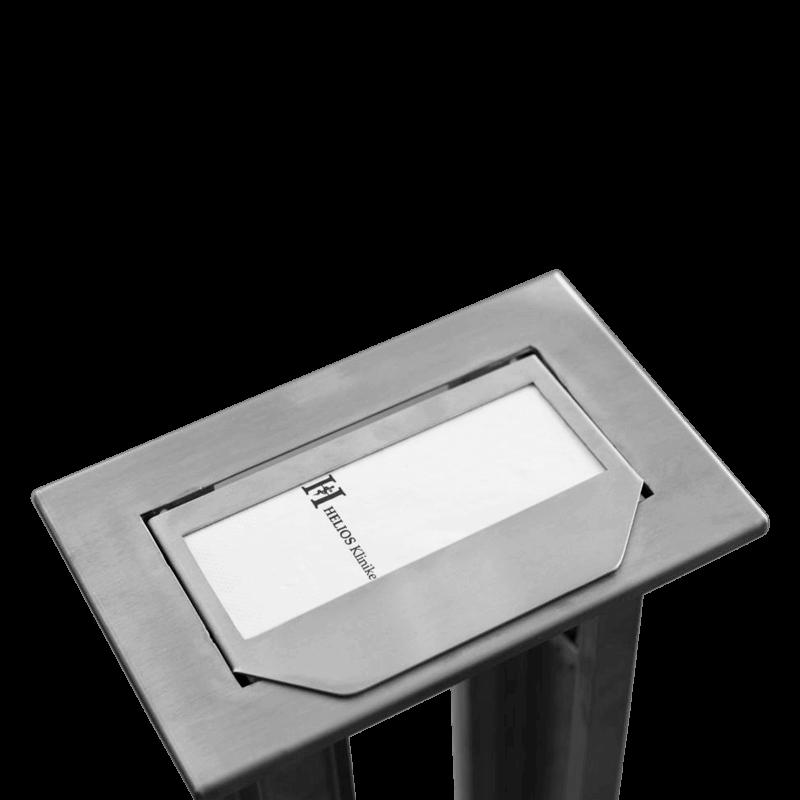 Einbau Serviettenstapler – Mit Magnetverschluss
