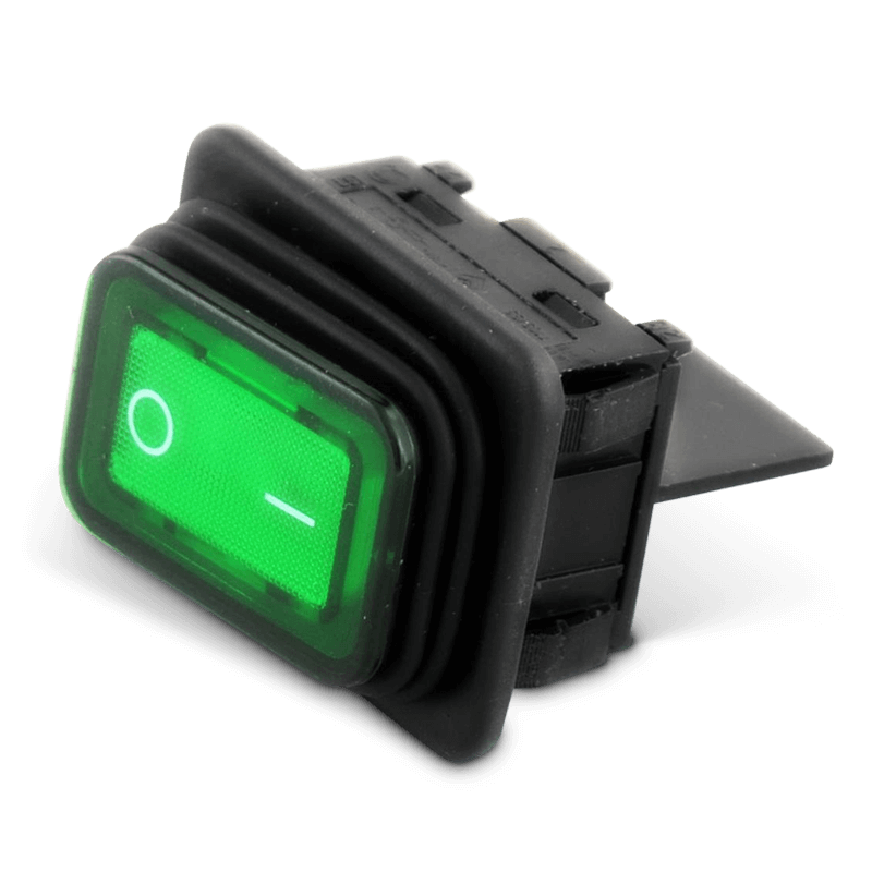 Schalter/Kontrollampe Grün