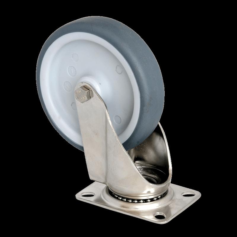 Lenkrolle Ohne Feststeller – Durchmesser 125 Mm – CNS