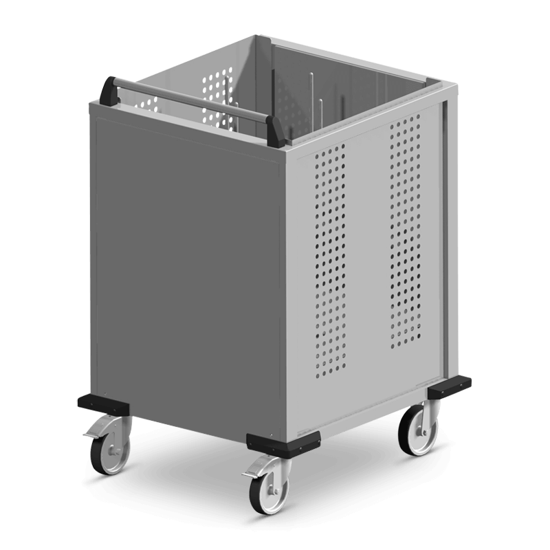 S-FR/Spezial – 4 Stapel Kunststoff Deckel