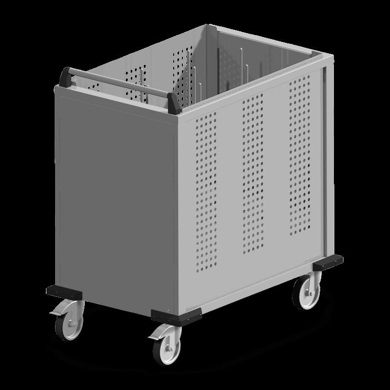 S-FR/Spezial – 6 Stapel Kunststoff Deckel